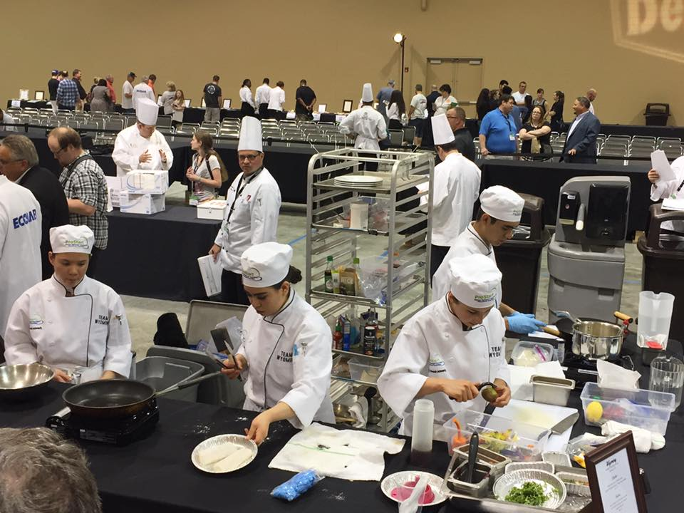 Students Participating in Culinary Conference