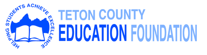 Teton County Education Foundation Logo (blue color)
