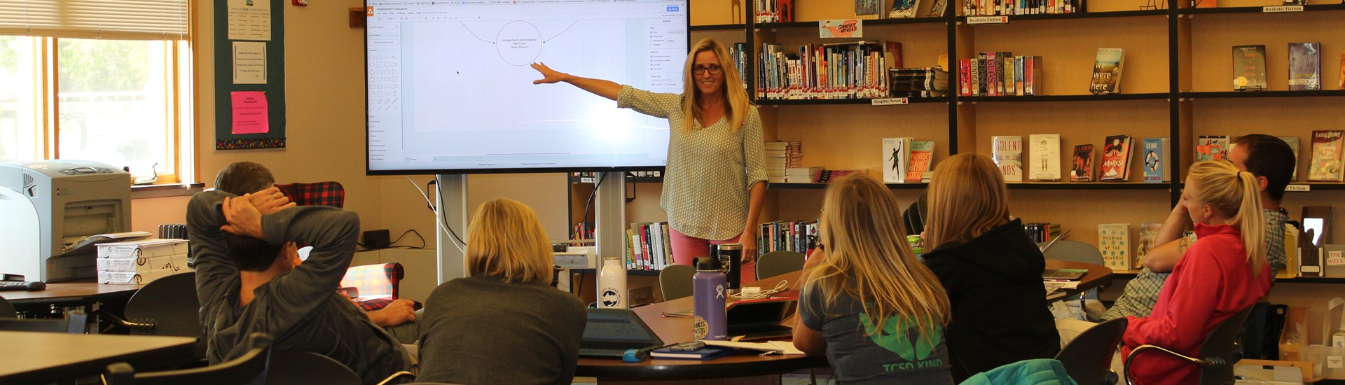 Teachers participate in training preparing for first day of school